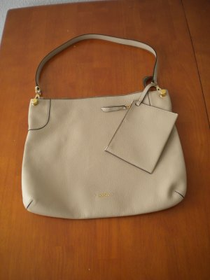 HOGAN (Tod's) Hobo Bag beige Leder wie neu