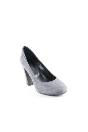 Hogan Loafers grijs-zwart zakelijke stijl