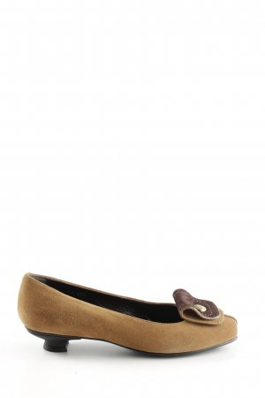 Hogan Loafers nude-bruin casual uitstraling
