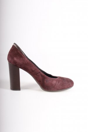 Hogan Wildleder-Pumps braunlila