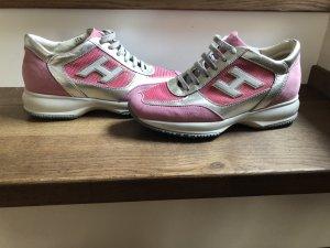 hogans in silber rosa