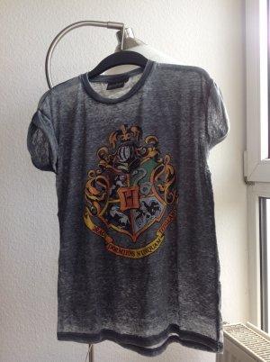 Hogwarts Shirt in Grau Harry Potter