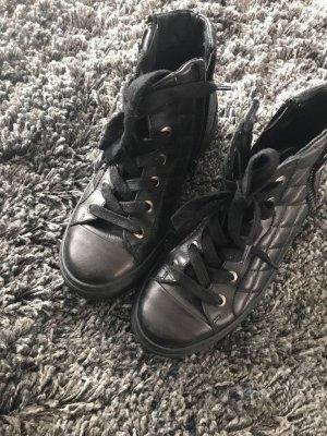 Hohe Hallhuber stepp sneaker aus Leder