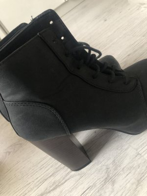 Hohe Plateau Boots Schwarz