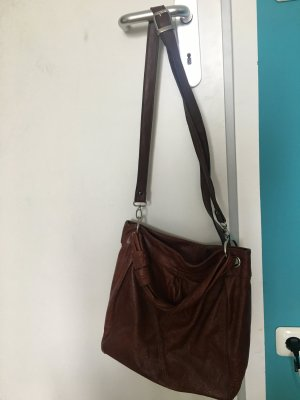 Carry Bag bronze-colored leather