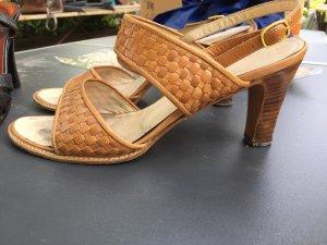 Hohe Sandaletten Bally Gr. 38 hellbraun