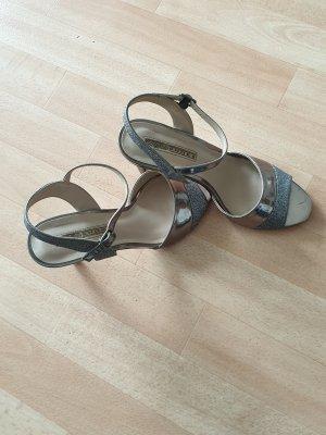 Buffalo High Heel Sandal silver-colored