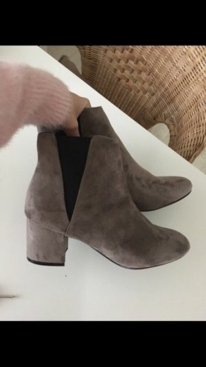 Blink Slip-on Booties beige-light brown