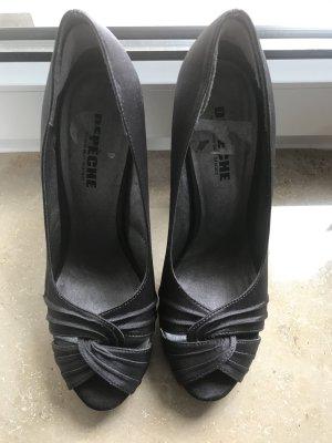 Hohe Schuhe dunkelgrau Gr.40
