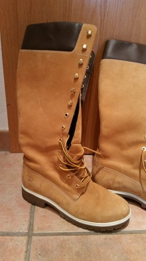 Hohe Timberlands Stiefel