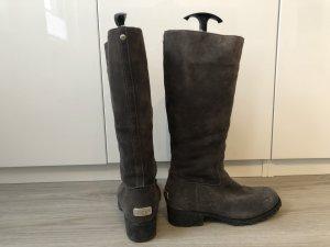 UGG Australia Fur Boots grey leather