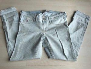 Hollister Jeans a 7/8 azzurro
