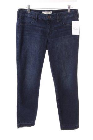 Hollister Jeans 7/8 bleu foncé