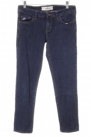 Hollister Jeans a 7/8 blu scuro stile casual