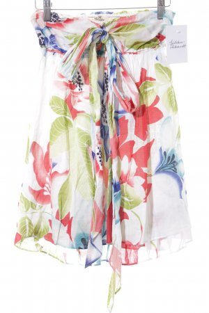Hollister ärmellose Bluse Blumenmuster Romantik-Look