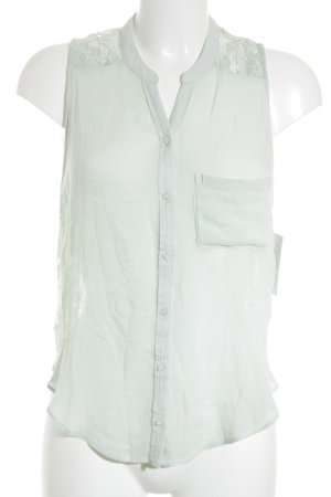 Hollister ärmellose Bluse mint Casual-Look