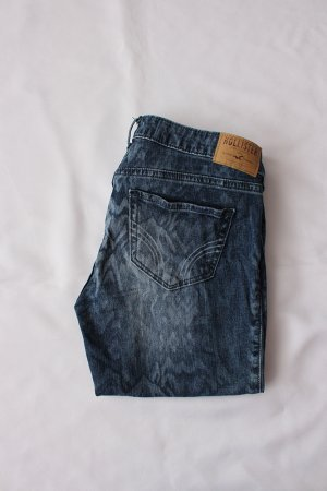 Hollister Ankle Aztek Denim Jeans Gr 5