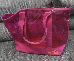 Hollister Shopper orange fluo-rose