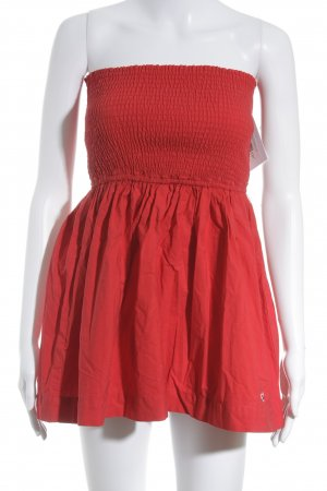 Hollister Ballonjurk rood Beach-look