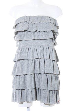 Hollister Robe bandeau gris Look de plage