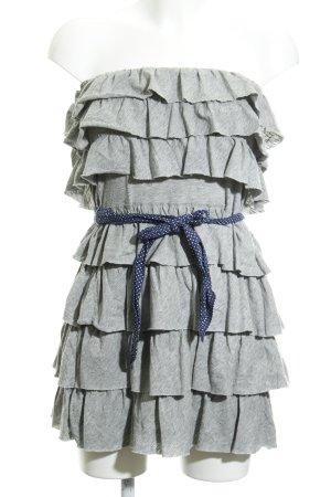 Hollister Bandeau Dress spot pattern casual look