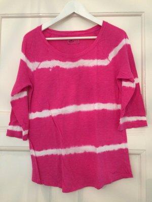 Hollister Batikshirt pink weiß