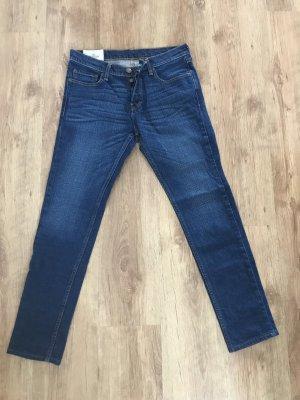 Hollister Wortel jeans blauw Katoen