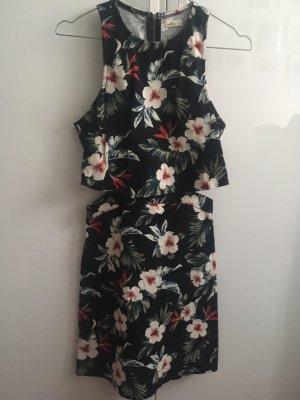 Hollister Cut out jurk zwart