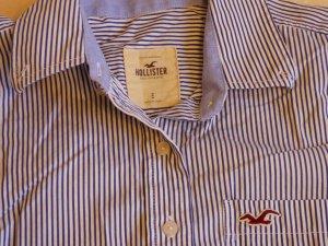 Hollister Bluse, Gr. S, blau-weiß gestreift