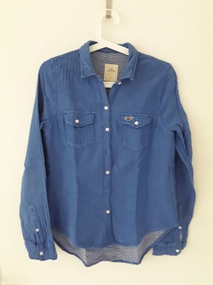 Hollister Hemdblouse staalblauw-korenblauw