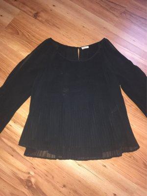 Hollister Blouse à manches longues noir polyester