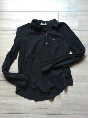 Hollister Bluse Tunika langarm Größe S schwarz
