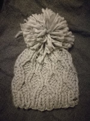 Hollister Knitted Hat light grey
