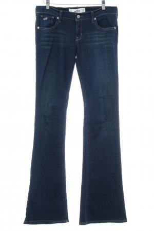 Hollister Boot Cut Jeans dunkelblau Country-Look