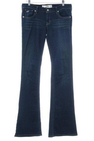 Hollister Jeans bootcut bleu foncé style campagnard