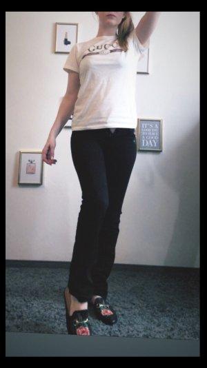 Hollister Pantalon taille basse noir