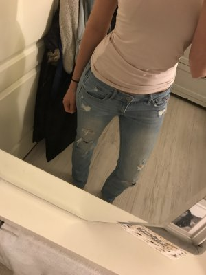 Hollister Boyfriend Trousers slate-gray
