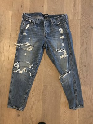 Hollister Boyfriend Jeans blue