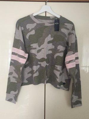 Hollister Boyfriend Shirt Camouflage