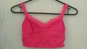 Hollister Bustie / Bandeau Top pink