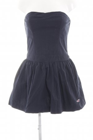 Hollister Bustier Dress blue party style