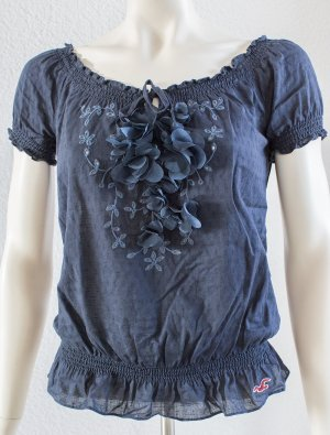 HOLLISTER by ABERCROMBIE & FITCH ~ SOMMER SHIRT BLUSE ~ SIZE XS