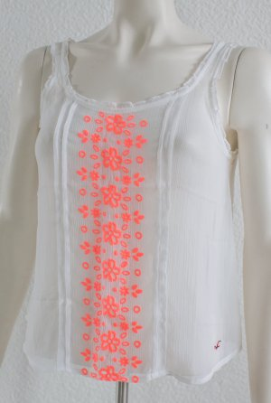 HOLLISTER by ABERCROMBIE & FITCH ~ SOMMER TOP SHIRT BLUSE TUNIKA ~ SIZE XS