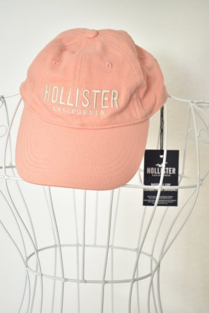Hollister Cappello con visiera rosa chiaro Tessuto misto