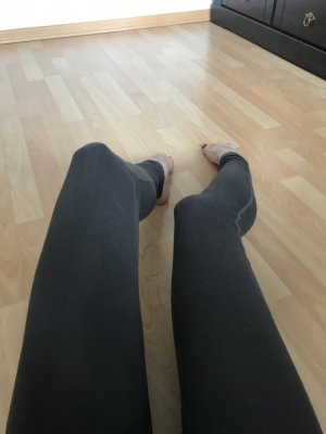 Hollister California Leggings Yoga Pants Grau XS