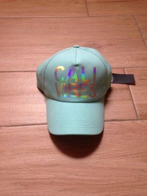Hollister Cap Baseballcap Mütze Cali Vibes türkis