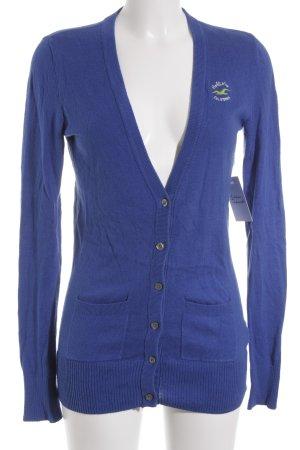 Hollister Cardigan blau Casual-Look