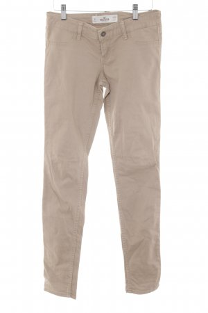 Hollister Chinohose camel Casual-Look