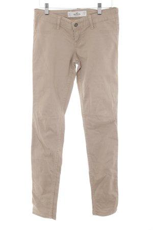 Hollister Pantalon chinos chameau style décontracté
