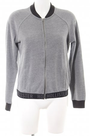 Hollister College Jacket light grey casual look